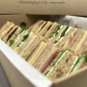 Sandwiches, Baguettes & Wrap Platters