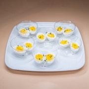 Hard Boiled Farm Fresh Egg Cups - (Small/6 Cups))
