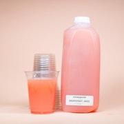 Freshly Squeezed Grapefruit Juice (Half Gallon)