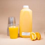 Freshly Squeezed Orange Juice (Half Gallon)