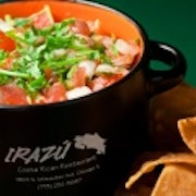 Shrimp Ceviche & Chips (medium)