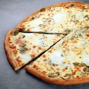 White Pie with Spinach