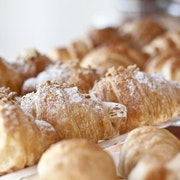 Mini Almond Croissant Basket