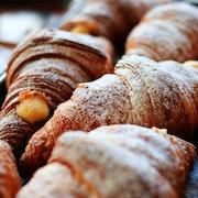 Mini French Pistachio Croissant Basket