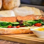 Parisian 'Street Style' Baguette Sandwich - Classic Tray