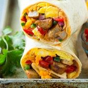 Breakfast Burrito (Sausage)