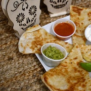 Cheese Quesadillas - with Meat