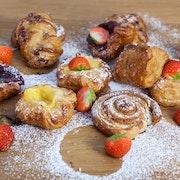 Danish Pastries & Fruit