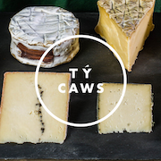 Cheese Curated by Ty Caws