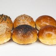 Demi Brioche Burger Buns pack of 6