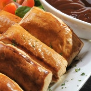 Our own Sausage Rolls served with Tangy HP Sauce