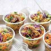 Mini salads Pots