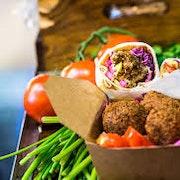 Vegetarian finger food individual box