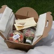 Meat finger food individual box