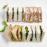 Gourmet Sandwich Quarters - Meat & Vegetarian Selection (24 quarters)