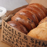 Deluxe Bagel and Shmear Box