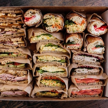 Assorted Sandwiches & Box Lunches