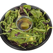 Mixed leaf with honey and mustard dressing