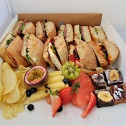 Deluxe Sandwich Platter with Classic Sliced Bread