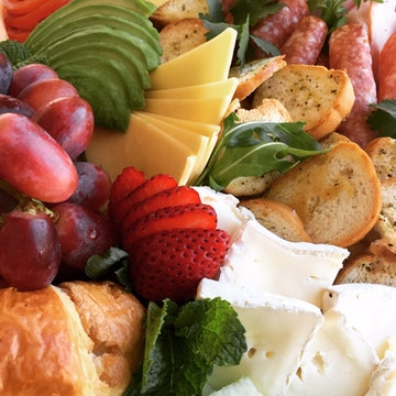 Morning and Afternoon Tea Platters or Packs for One