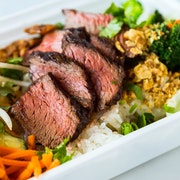 Entrée Box: STEAK - Soy-Garlic Glazed