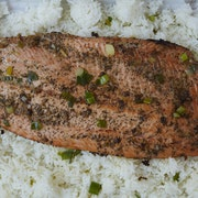 Lemongrass Ginger Salmon (Serves 10)
