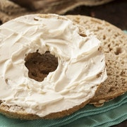 Bagel & Cream Cheese Platter by the Half Dozen