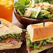 Boxed Half Sandwich & Salad Combo