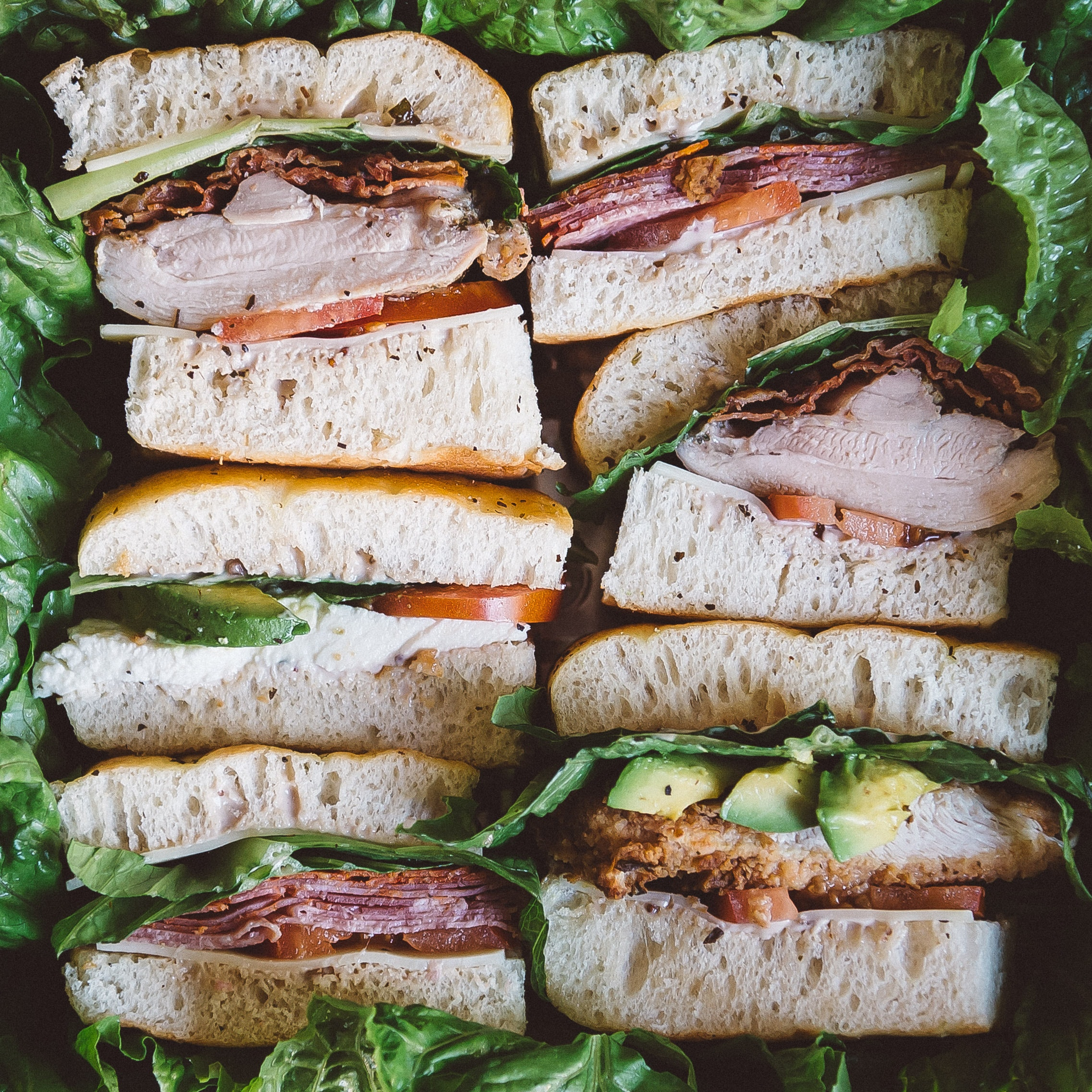 SMALL FULL FLAVORED SANDWICH TRAY