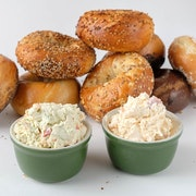 Bagels & Schmears - Medium (Serves 10)