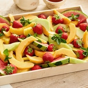 Plateau salade de fruits bio (10 pièces)