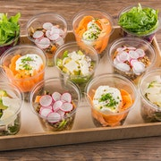 Plateau Mini salade (10 pièces)