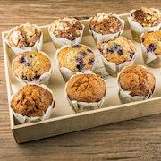 Plateau muffins bio (15 pièces)