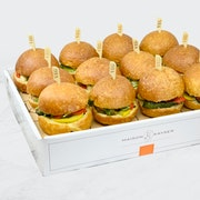 Vegetarian Lunch Sliders Platter - Large