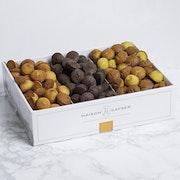 Assortment of mini financiers: Plain, Chocolate, Pistachio (30 cal)