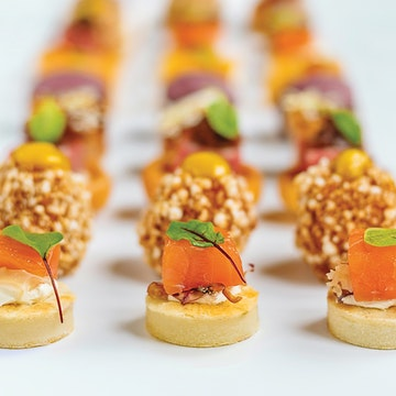 Finger Food, Fork Buffet, Sandwiches, Canapes etc (COLD COLLECTION)